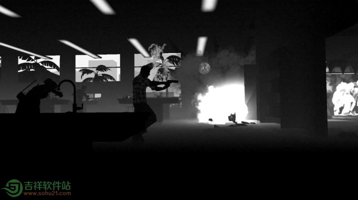 Dead Run评测:在黑白世界中狂舞[多图]