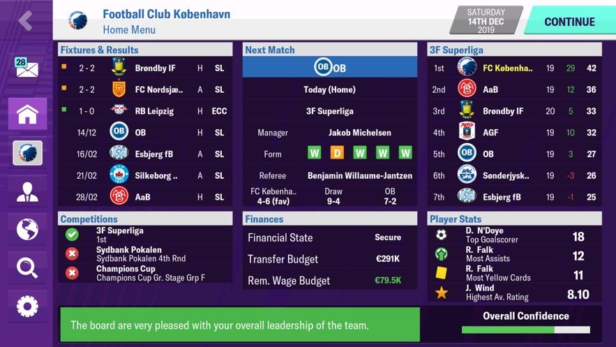 Football Manager 2020 Mobile无限金币修改破解版图片1