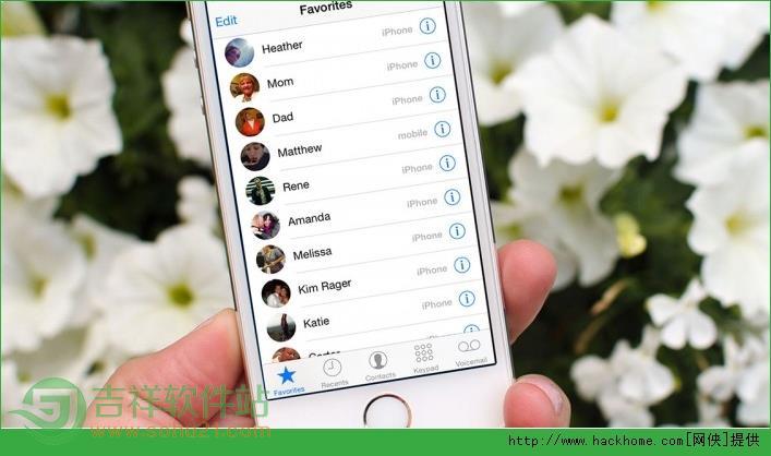 苹果iphone ios系统给联系人添加头像图文教程[多图]