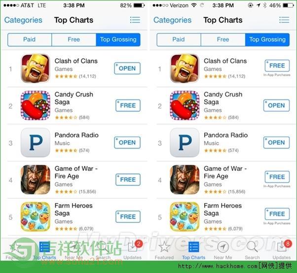 苹果iOS 7.1.1重要改进:提醒应用内购[多图]