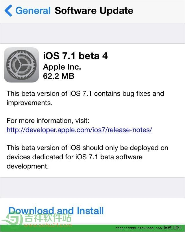 苹果ios7.1 beta4怎么样? ios7.1 beta4使用图文评测[多图]